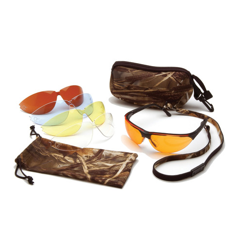 Ducks Unlimited Shooting Eyewear Kit 5 Interchangeable Lens