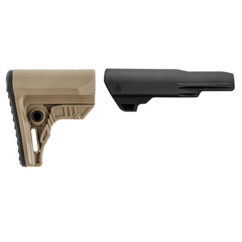 Leapers UTG PRO AR15 Ops Ready S4 Mil-spec Stock Only-FDE