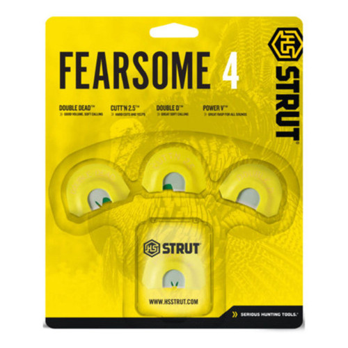 Hunters Specialties Strut Fearsome 4 Diaphragm 4 Pack