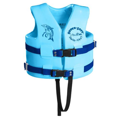TRC Recreation Kids Super Soft USCG Vest M - Marina Blue