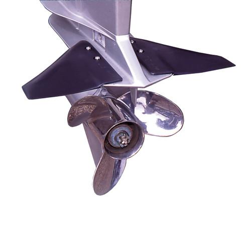 Davis Doel-Fin Outboard Outdrive Stabilizer - Black