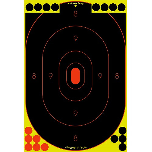 Birchwood Casey Shoot-N-C 12in x 18in Silhouette Target 12pk