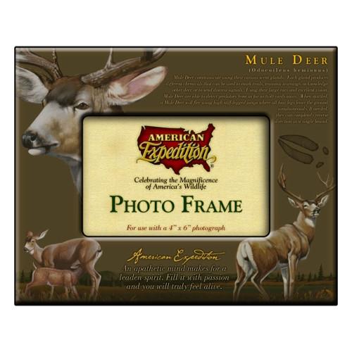 American Expedition Photo Frame - Mule Deer