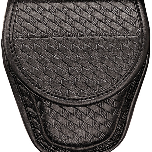 Bianchi 7900 Covered Cuff Case Basket Weave Hidden Snap