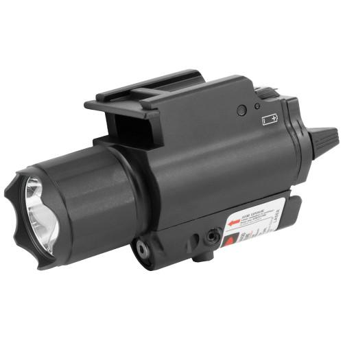 Ncstar 200l Flashlight W/ Red Laser