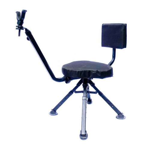 Benchmaster Four Leg Ground Blind Chair Shooting Chair