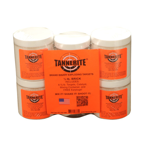 Tannerite Half Brick 1/2lb Trgt 4/pk