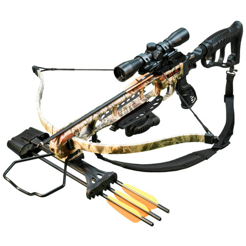 Viking FX1-45 Recurve Crossbow - Boneyard Camo