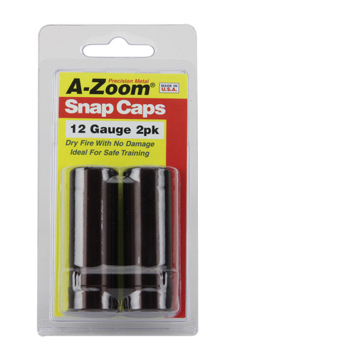 A-ZOOM 12 GAUGE Snap-Cap  2PK