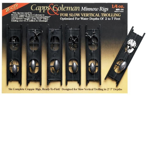 BnM Capps and Coleman Minnow Rig 0.25 oz
