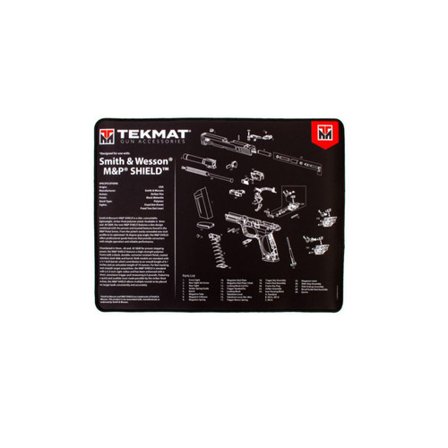 TekMat Ultra 20 Smith and Wesson MP Shield Gun Cleaning Mat