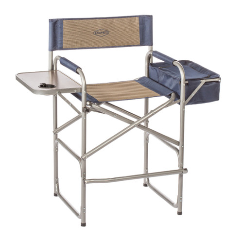 Kamp-Rite High Back Directors Chair Table and Cooler