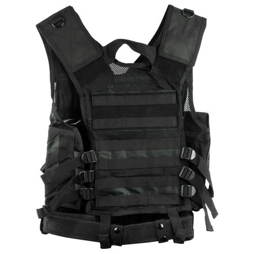 Ncstar Tactical Vest Med-2xl Blk
