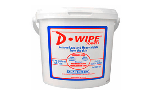 D-wipe Towels 2-325 Ct Tubs