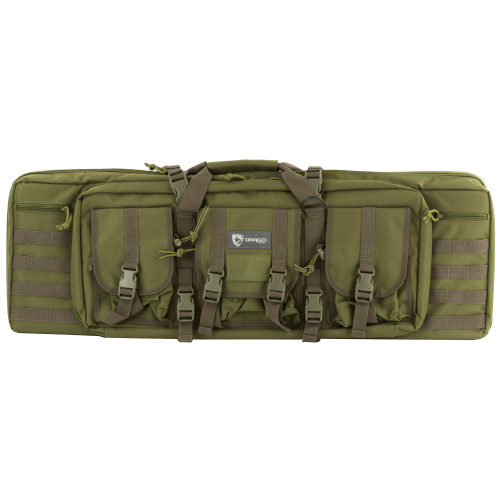 "Drago Gear 36"" Double Gun Case Grn"