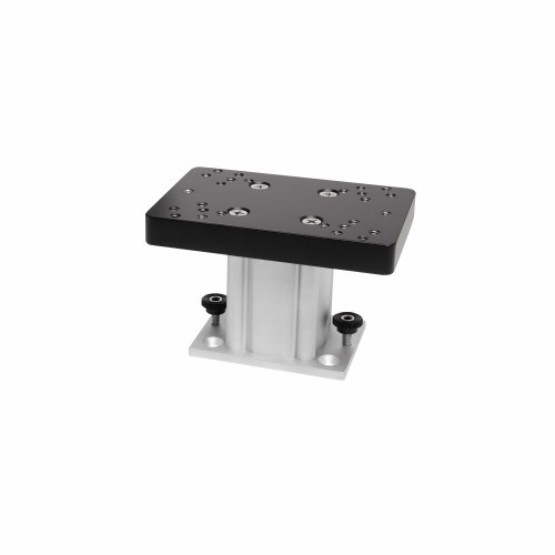 Cannon 4 Inch AlumInum Fixed Base Pedestal Mount