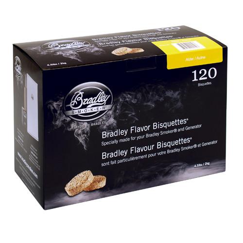 Bradley Alder Bisquettes 120-Pack