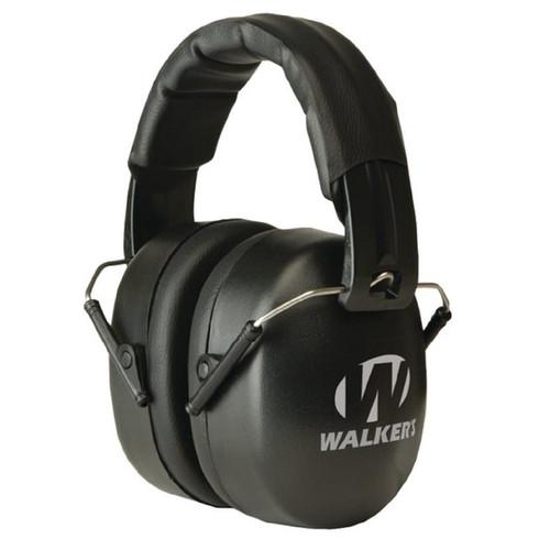Walkers EXT Passive Folding Muff-34dB NRR-Black