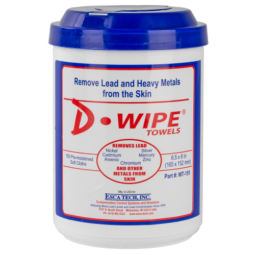 D-wipe Towels 8-150 Ct Canisters