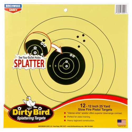 B/c Dirty Bird 25yd Pistol 12-12