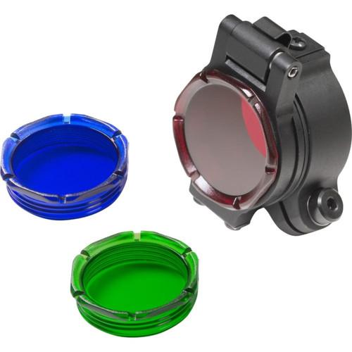 SureFire Filter Assy For 1.125 Or 1 in Bezel Rd Blu Grn Lens
