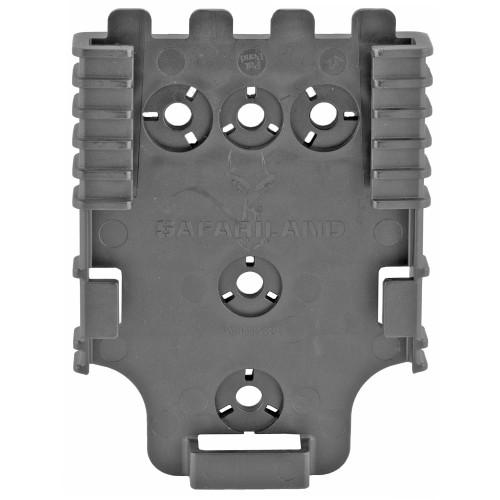 Sl 6004 Qls Rcvr Plate Blk - SL6004-22-2