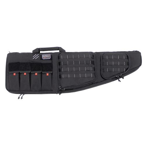 GPS Tactical Double AR Case 43in-External Handgun Case-Black
