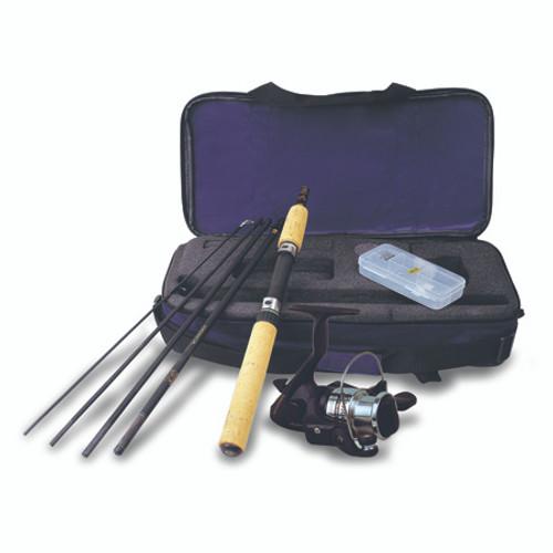 Okuma Voyager Spin Combo Travel Kit 6Ft Med Lt 5Pc 1BB