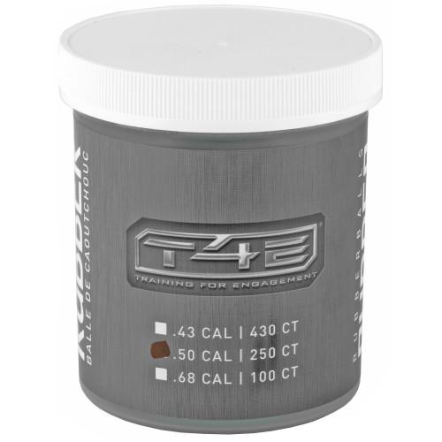 Umx T4e 50 Cal Rubber Ball 250ct Jar
