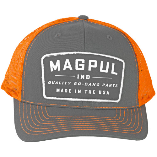 Magpul Go Bang Trckr Hat Chrcoal/org