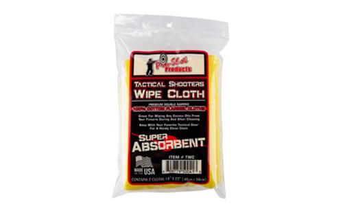 Pro-shot Shooters Wipe Cloth - 2 Per