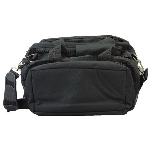 Bulldog Range Bag Dlx W/strap Blk