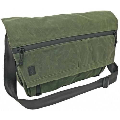 Ggg Wanderer Messenger Bag Olive Drb