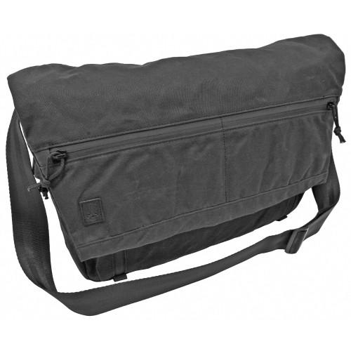 Ggg Wanderer Messenger Bag Black