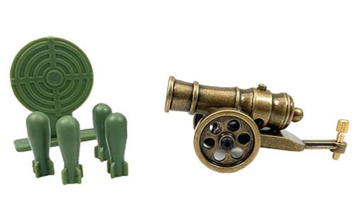 Ravnwd Mini Cannon W/shells And Trgt