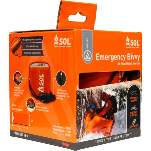 SOL Emergency Bivvy Orange