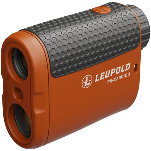 Leupold Golf PinCaddie3 Golf Rangefinding Monocular Orange