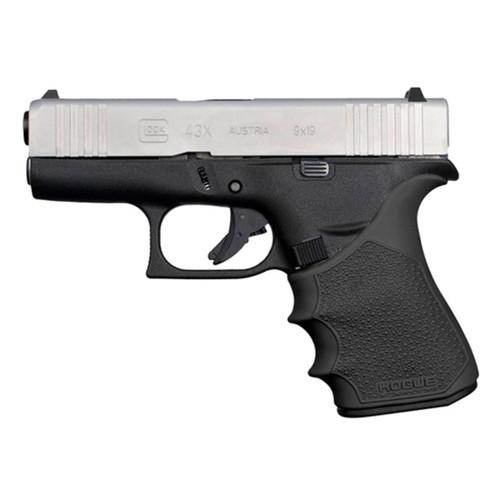 Hogue HandAll Beavertail Grip Sleeve Glock 43X 48 Black