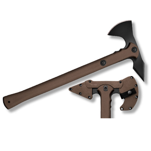 Cold Steel Trench Hawk Drop Forged Axe 8.75 in Head OD Hndl