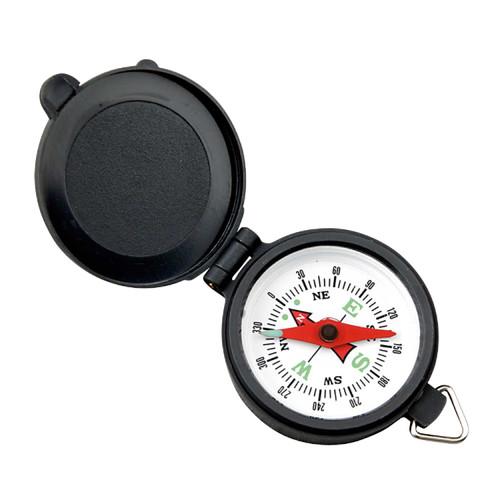 Coleman Pocket Compass With Plastic Case Blk/Wht 2000016512
