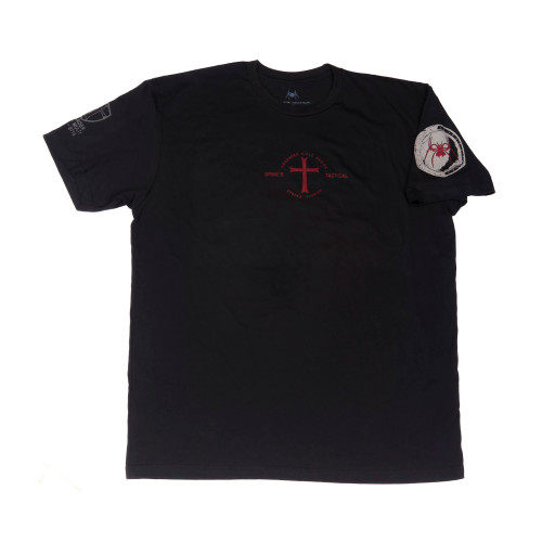Spike's Tshirt If God Be For Blk 2x