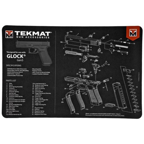 Tekmat Pistol Mat For Glock G5 - TEKR17-GLOCK-G5E