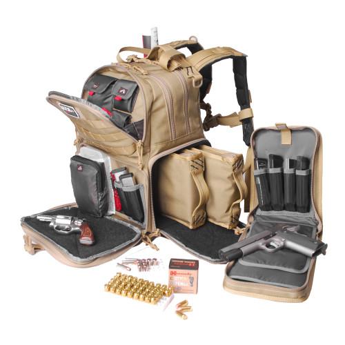 G-outdrs Gps Tac Range Backpack Tan - GOGPS-T1612BPTE