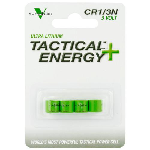 Viridian 1/3n Lithium Battery 4pk - LAS350-0002