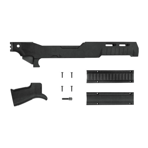 Sb Tact Fixed Chassis For 10/22 Blk