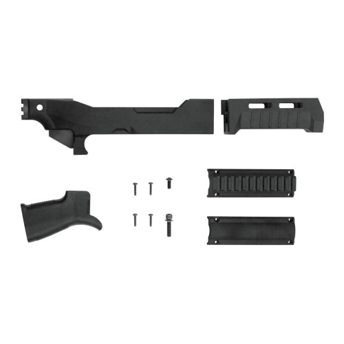 Sb Tact Tkdwn Chassis For 10/22 Blk