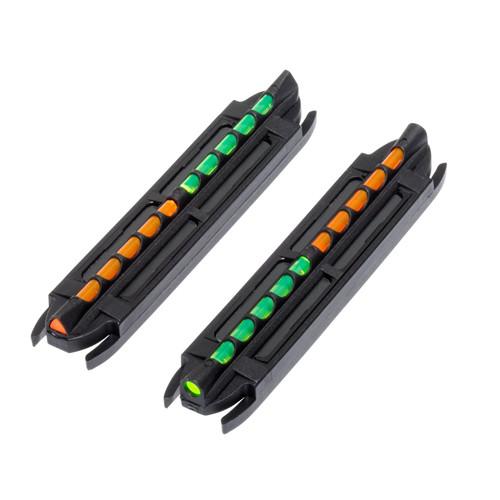 HIVIZ 2-In-1 Magnet Shotgun Sight w Reverse GrnOrng LitePipe