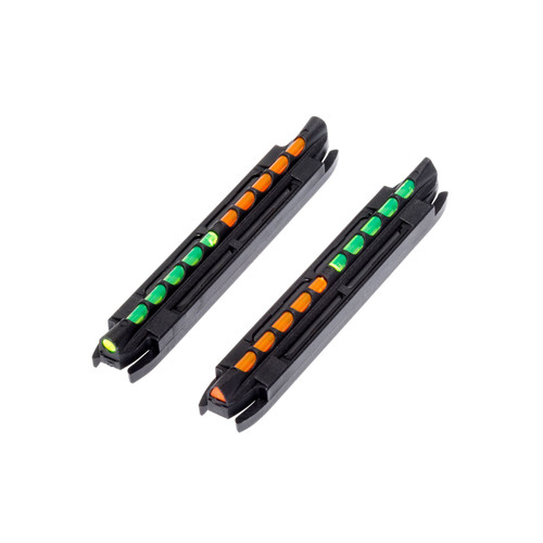 HIVIZ 2-In-1 Magnet Shotgun Sight w Reverse Grn Org LitePipe