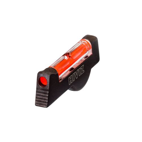 HIVIZ Overmold Red Front Sight SandW Pinned Sight Revolver