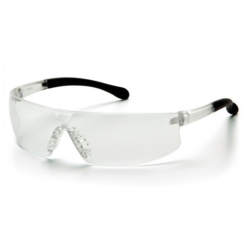 Pyramex Provoq Safety Glasses Clear Frame Clear Lens
